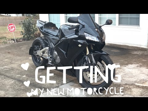 Video Getting My New Motorcycle ( 2006 Honda CBR 600RR ) download in MP3, 3GP, MP4, WEBM, AVI, FLV January 2017