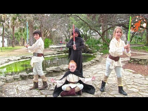 Star Wars Kids 3 - The Rescue Mission 1 - Jedi Vs Sith