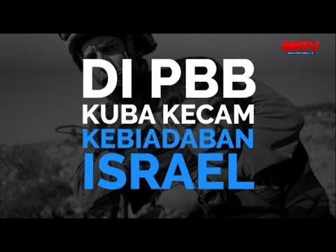 Di PBB, Kuba Kecam Kebiadaban Israel