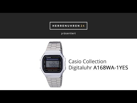 Casio Collection A168WA-1YES Digitaluhr im Test