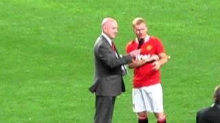 Paul Scholes verabschiedet sich von United-Fans
