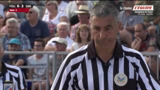 Lanester France  city images : Championnat de France Petanque triplette 2016 Quart de Finale
