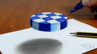 Video 3D Trick Art on Paper, Try to do Floating chess MP3, 3GP, MP4, WEBM, AVI, FLV Februari 2019