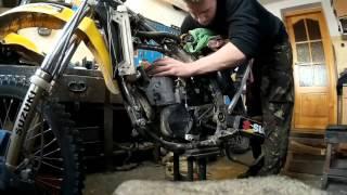 9. Suzuki RM250 rebuild