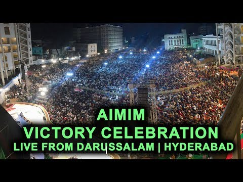 Video Akbaruddin Owaisi - Asaduddin Owaisi   AIMIM Victory Celebration   Live From Darussalam   Hyderabad download in MP3, 3GP, MP4, WEBM, AVI, FLV January 2017