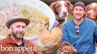 Brad Prepares and Cooks Pheasant   It's Alive   Bon Appétit