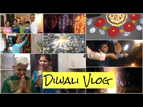 Meet Our Entire Family | How we Celebrated our Diwali | Diwali Vlog 2018 | VLOG : 1