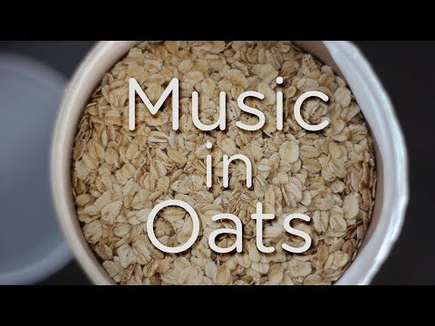 Making Music With a Can of Oats