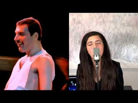 Show Must Go On - Freddie Mercury and Angelina Jordan