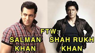 Video For The Win: Salman Khan vs Shah Rukh Khan MP3, 3GP, MP4, WEBM, AVI, FLV September 2019