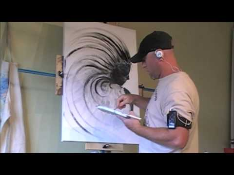 anche uno spazzolino crea arte!
