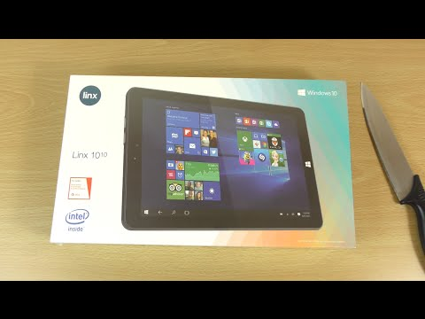 Linx 1010 Windows 10 Tablet  - Unboxing & First Look!