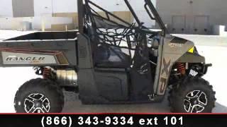 1. 2014 Polaris Ranger XP 900 EPS Titanium Matte Metallic LE -