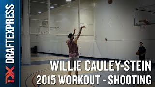 Willie Cauley-Stein 2015 NBA Draft Workout Video - Shooting
