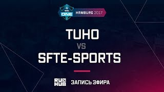 TuHo vs SFTe-sports, ESL One Hamburg 2017, game 2 [Maelstorm, Inmate]