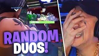 Random Squads in Fortnite | SpontanaBlack