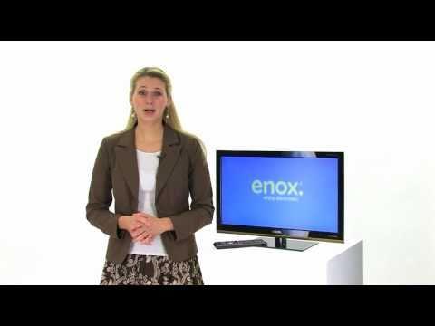 ENOX 12 Volt LCD LED Fernseher 60cm (24 Zoll) mit DVD-Player und DVB-T + DVB-C Tuner