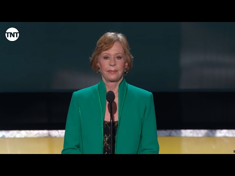 Carol Burnett SAG Awards Lifetime Achievement 2016