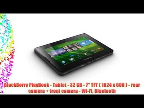 BlackBerry PlayBook - Tablet - 32 GB - 7 TFT ( 1024 x 600 ) - rear camera + front camera -