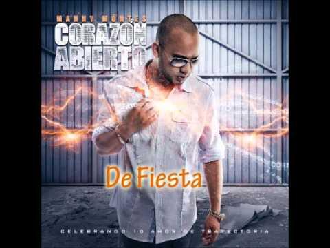 Manny Montes con Alex Zurdo - De Fiesta nuevo 2012 Album Corazon Abierto