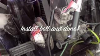 3. Vintage sled tutorial #1 Remove and replace your Rotax clutch
