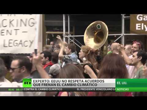 Protesta global: El mundo dice 'no' al cambio climático