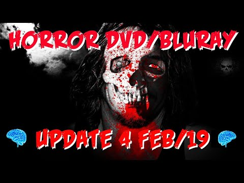 Horror DVD/BluRay Update 4 Feb19 (With Special unboxing from Nik Box)