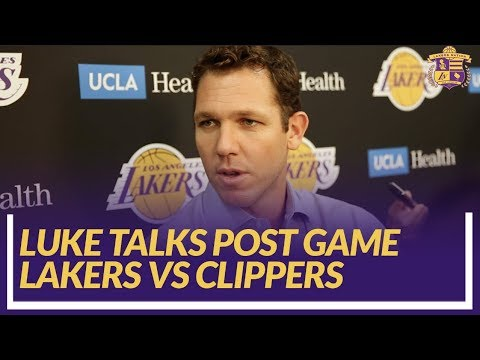 Video: Lakers Nation Post Game: Luke Walton Talks About What He Saw From Rondo Leading The Team