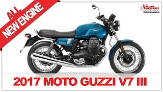 10. NEW!! 2017 Moto Guzzi V7 III Price Specification Review