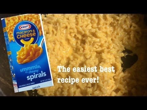 HOW TO MAKE THE EASIEST AND BEST KRAFT BOXED MAC AND CHEESE | SECRET INGREDIENT | SHOWSTOPPER SHOWS