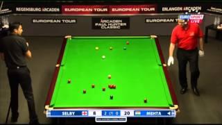Video Aditya Mehta - Mark Selby (Frame 3) Snooker Paul Hunter Classic 2013 - Round 8 MP3, 3GP, MP4, WEBM, AVI, FLV Februari 2019