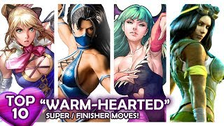 "Video TOP 10 ""WARM-HEARTED"" SupeR/FinisheR Moves in Fighting Games! VOL.1 MP3, 3GP, MP4, WEBM, AVI, FLV Februari 2019"