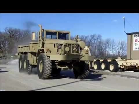 m813 winch 5 ton 6x6 military cargo truck c 200 69 watch our video demo