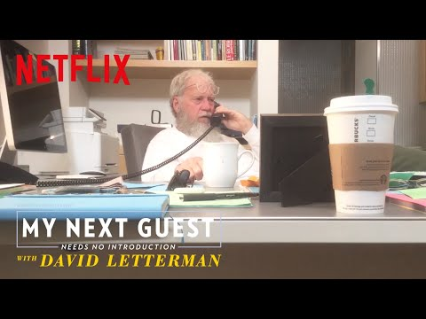 Watch David Letterman Call President Obama | My Next Guest Needs No Introduction | Netflix
