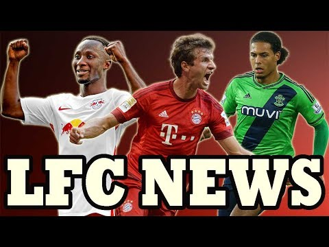 THOMAS MULLER TO LIVERPOOL!! KEITA 3RD BID EXPECTED!! VAN DIJK!! LFC TRANSFER NEWS
