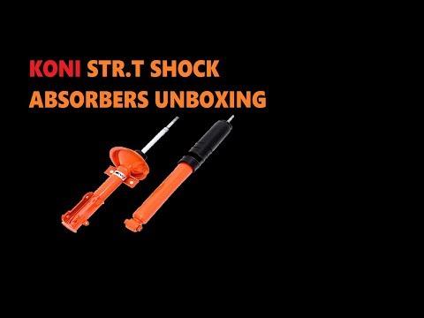 Koni Str.t Shock Absorbers Unboxing (видео)