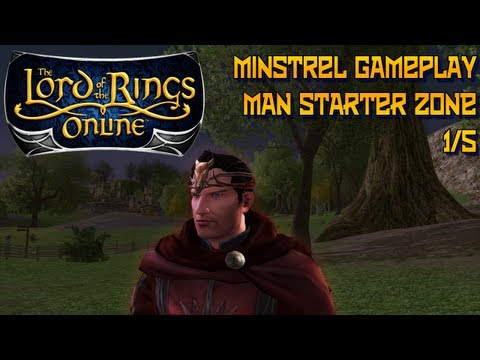 lotro minstrel - Lets Play LOTRO with Dulayne Sign up for LOTRO here: http://goo.gl/tiR2c Server: Landroval Dulayne's walkthrough of the Starter zone for the race of men, a f...