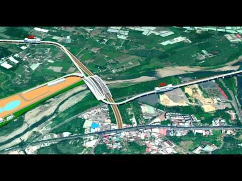 捷運三鶯線空拍模擬影片