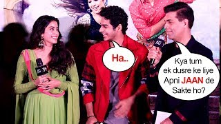 Video Sridevi's Daughter Jhanvi & Boyfriend Ishaan's On How Much They LOVE For Each Other @Dhadak Trailer MP3, 3GP, MP4, WEBM, AVI, FLV Juni 2018