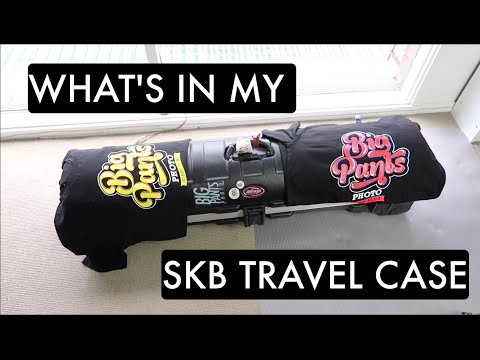 What's in my photoshoot ROAD CASE (SKB GOLF TRAVEL CASE)