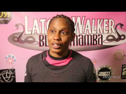 Invicta FC 12: Latoya Walker Post-Fight Interview