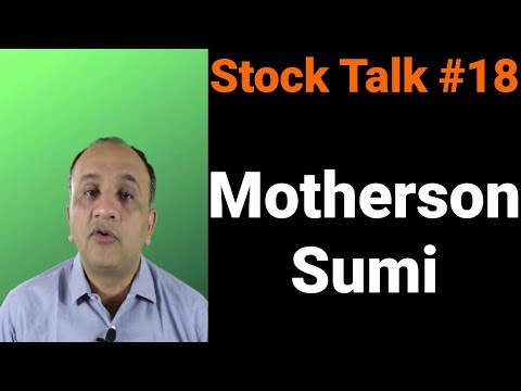 Motherson Sumi Technical Analysis - Stock Talk With Nitin Bhatia #18 (Hindi)