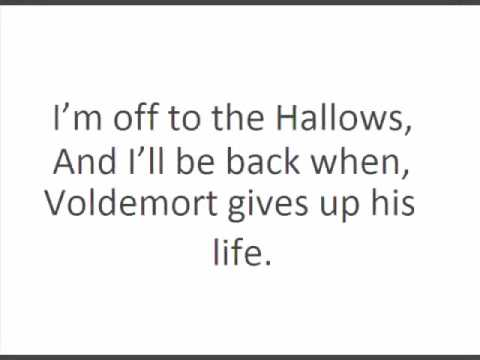 hallows - Lyrics of