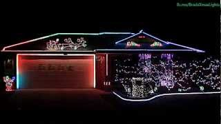 Bald Hills Australia  city photo : Brad's Christmas Lights 2012 - Brisbane, Australia