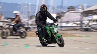 2. Kawasaki Z125 Pro First Ride Review at RevZilla.com