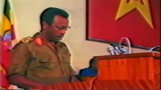 Col. Mengistu Haile Mariam  Powerful Speech - DVD Quality
