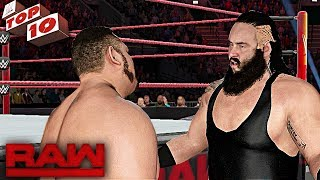 WWE 2K17 - Top 10 Raw Moments: WWE Top 10, July 17, 2017Follow me on Twitter : https://Twitter.com/MrCreeperHDYTPlatform : XBOX ONECapture Card : Elgato HD60Game : WWE 2K17 - WWE 2K18Production Music courtesy of Epidemic Sound: http://www.epidemicsound.comRoyalty Free Music by http://audiomicro.com/royalty-free-music