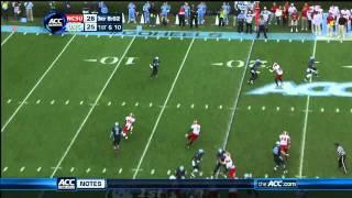 Eric Ebron vs NC State (2012)