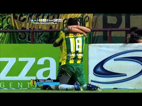 Gol de Lugüercio. Aldosivi 2 – Banfield 1. Final Liguilla Pre Sudamericana 2015