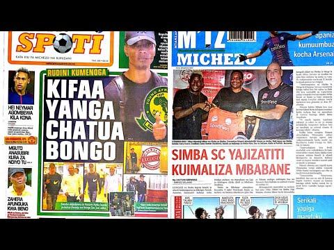 MICHEZO Magazetini Jumamosi 1/12/2018:Simba Yapata Kifaa,Kuwamaliza Mbabane